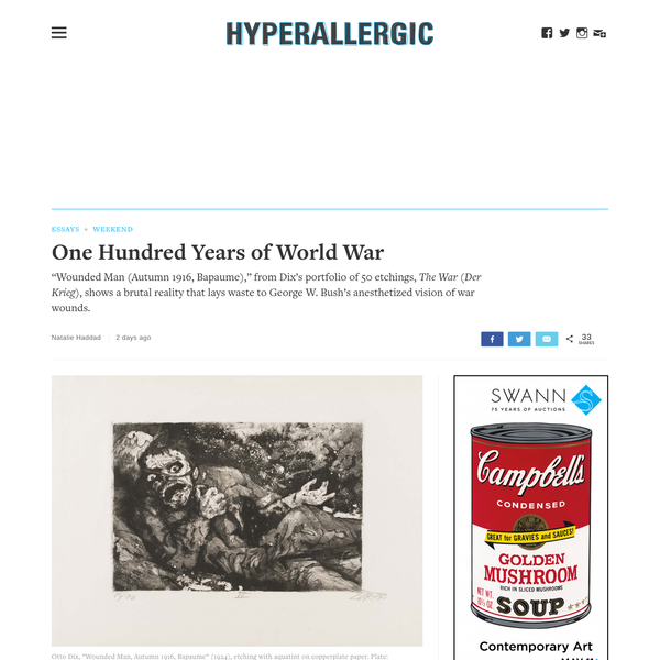 One Hundred Years of World War