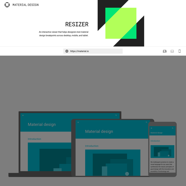 Resizer - Material Design