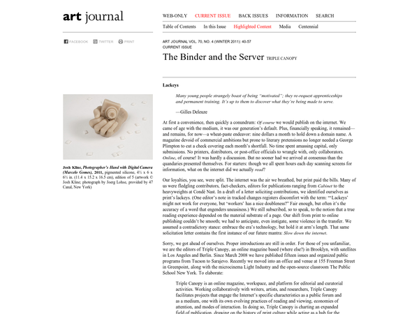 The Binder and The Server
