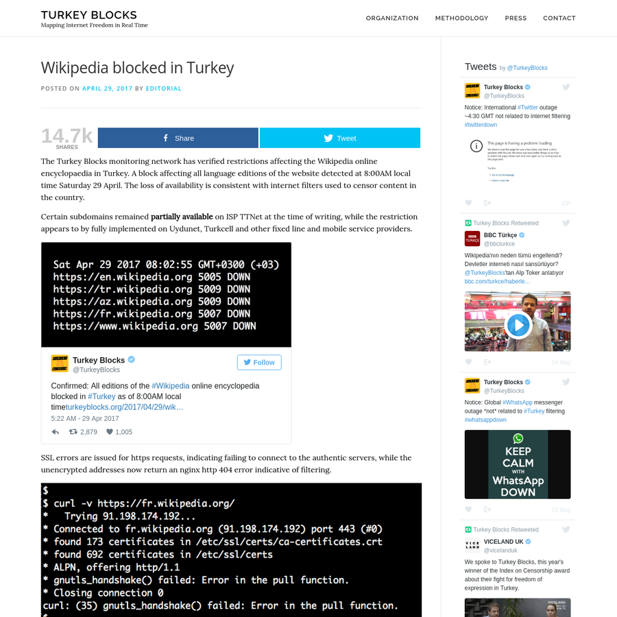 Are Wikipedia Blocked In Turkey Turkey Blocks