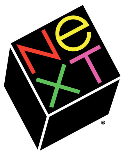 Created by Paul Rand in 1986 for NeXT computer.