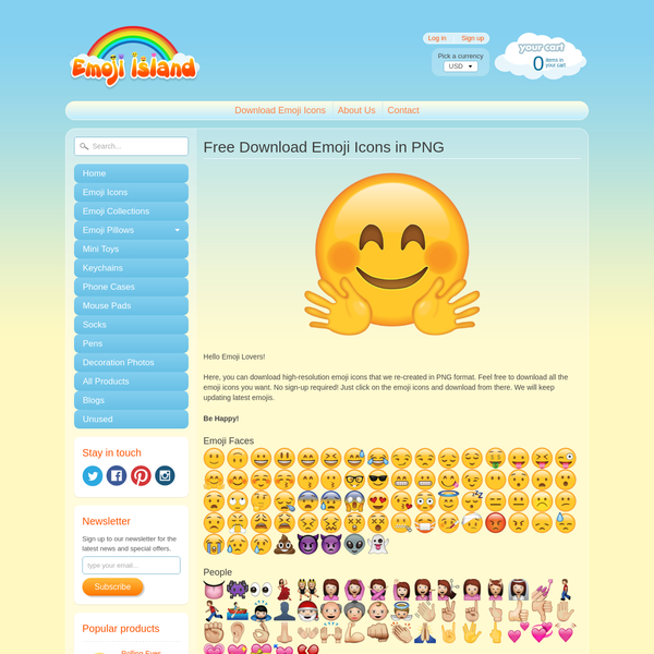 Here, you can download all emoji icons in PNG for free! What's more, it is available for everyone. We made these vector emojis in high resolution so that anyone can use them for personal uses.