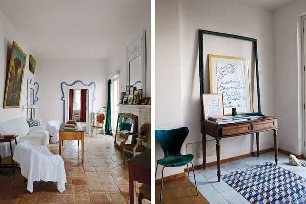 Cy Twombly's Italian Home
