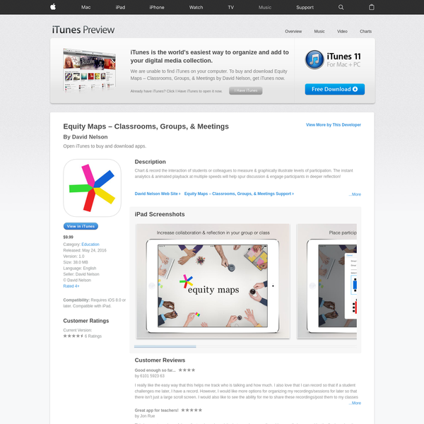 Equity Maps - Classrooms, Groups, & Meetings on the App Store