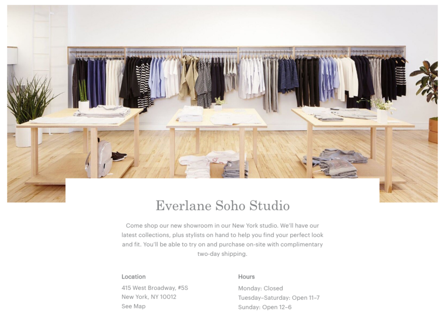 Everlane Soho Studio
