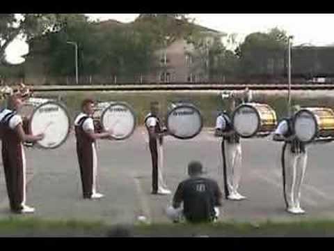 2006 Cadets Bass Drum Line - Finals Lot 1