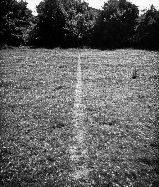 richard long / line walking