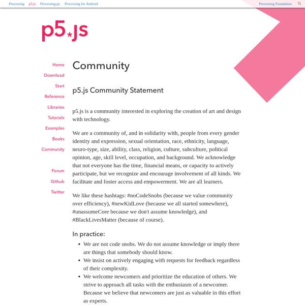 p5.js   community