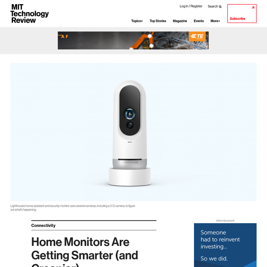 A new smart-home assistant and security monitor can tell the difference between specific adults and spot kids and pets, and send you smartphone alerts about what they're up to. Lighthouse went on sale on Thursday, though it won't ship to customers until September.