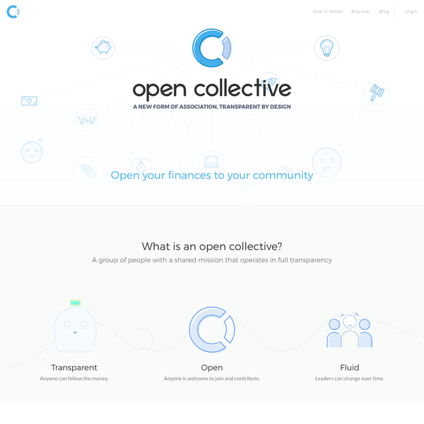 OpenCollective - A New Form of Association, Transparent by Design