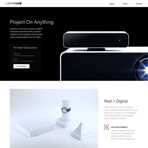 Lightform: Project On Anything