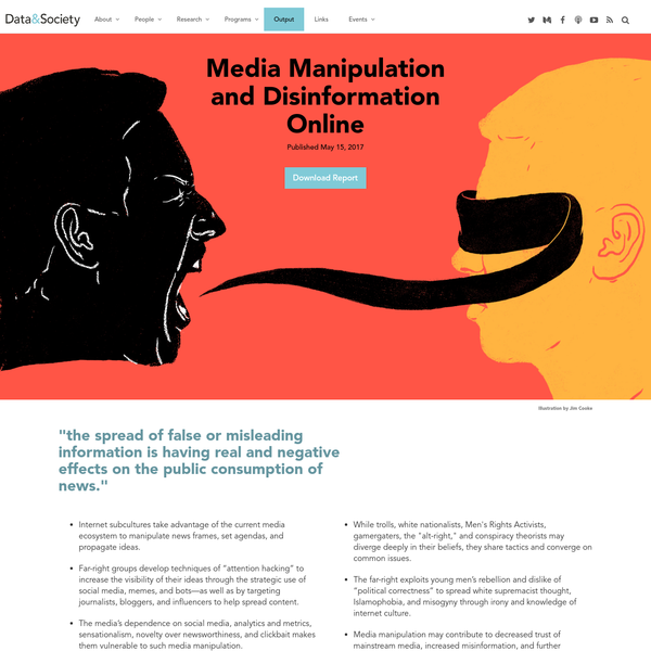 New Report Reveals Why Media Was Vulnerable to Radicalized Groups Online