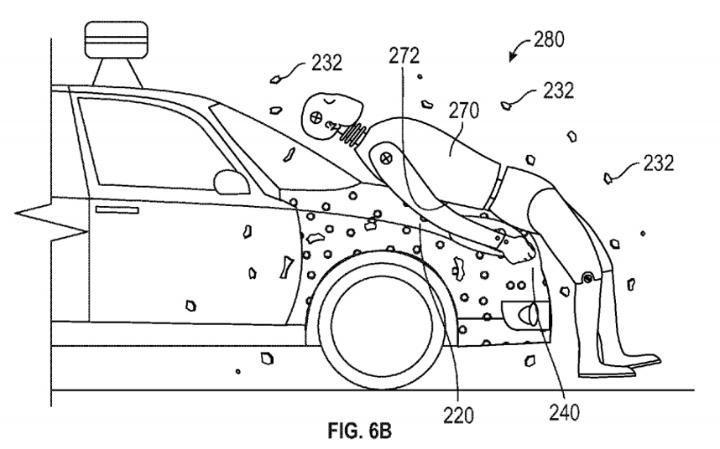 Google 'Sticky' Car