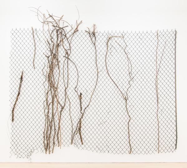 2017.05 Charles Harlan: Sailboat, Trees, 2016