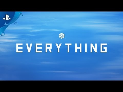 Everything is a beautiful new interactive experience from David OReilly, narrated by the late great philosopher Alan Watts - coming to Playstation on March 21st Discover more at http://www.everything-game.com Everything is an narrated sandbox in which everything you see is a thing you can be, from animals to planets to galaxies and beyond.