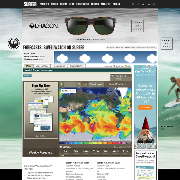 SwellWatch 3D - Surf Report and Forecast