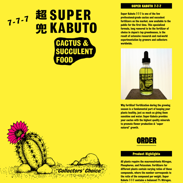 This specialized formula, long rumored to be the fertilizer of choice at Japan's top greenhouses, is used by renowned collectors worldwide.