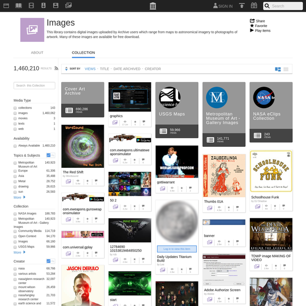Download & Streaming : Images : Internet Archive