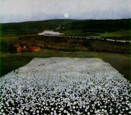 Flower Meadow in the North (1905) Harold Sohlberg
