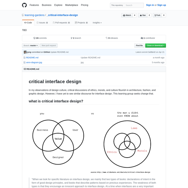 critical-interface-design - TBD