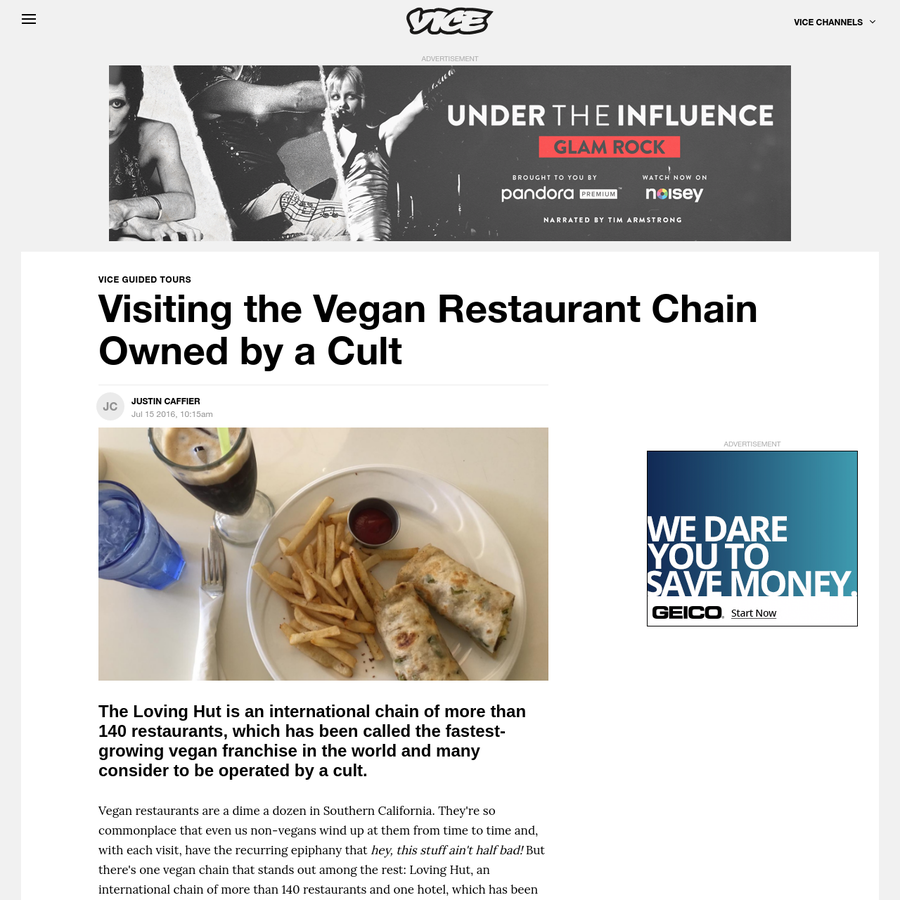 Vegan restaurants are a dime a dozen in Southern California. They're so commonplace that even us non-vegans wind up at them from time to time and, with each visit, have the recurring epiphany that hey, this stuff ain't half bad!