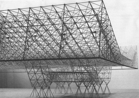 Aircraft Hangar (Prototype), Konrad Wachsmann, 1955