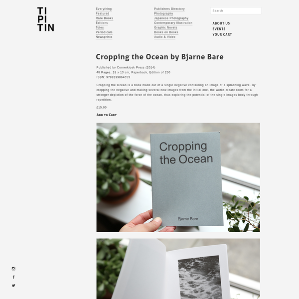 Cropping the Ocean by Bjarne Bare | Ti Pi Tin
