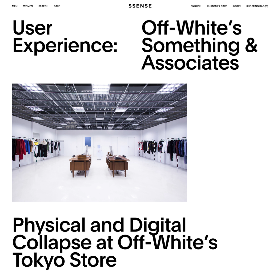 Visiting Off-White's Tokyo Store