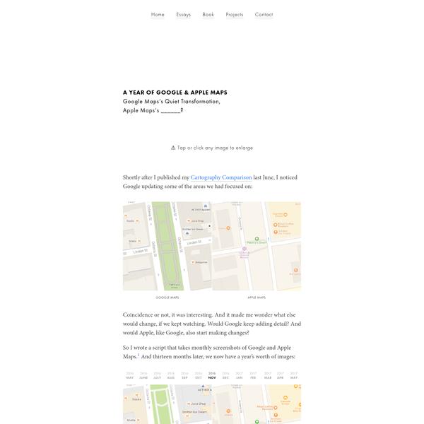 Google Maps's Quiet Transformation