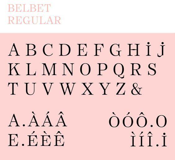 Belbet Regular by Stéréo Buro