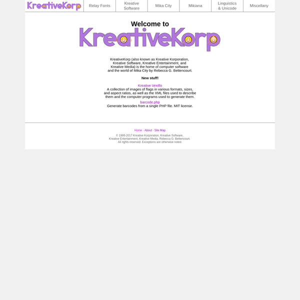 Welcome to KreativeKorp