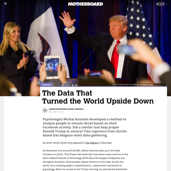 The Data That Turned the World Upside Down