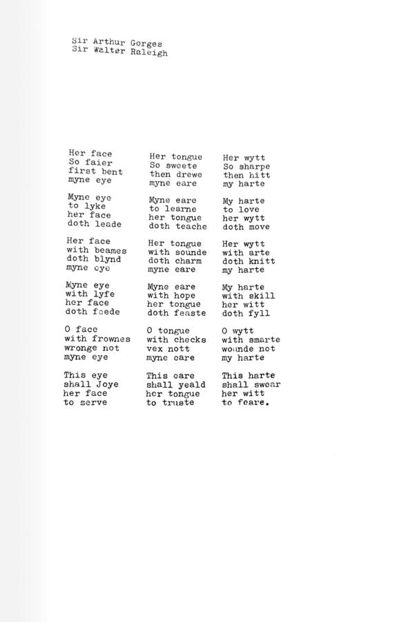 """Poem,"" [n.d.] _0 to 9 Number 1_ (New York, 1967), p. 3."