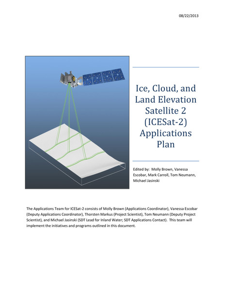 Ice, Cloud, and Land Elevation Satellite 2(ICESAT-2)