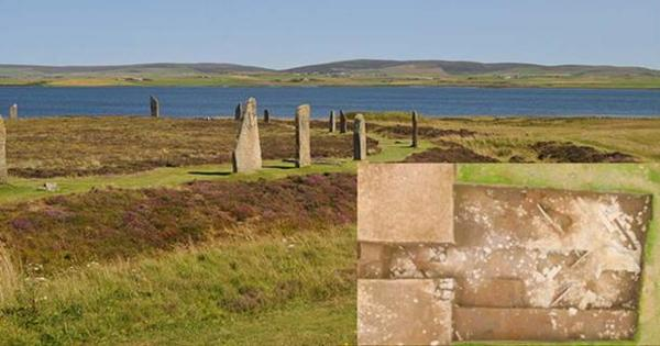 A mysterious Stone Age building has been unearthed at the Ness of Brodgar in Orkney, Scotland. Researchers discovered it while excavating a Neolithic midden (rubbish dump.) It is located near one of Scotland's most famous rings of standing stones - the Ring of Brodgar.