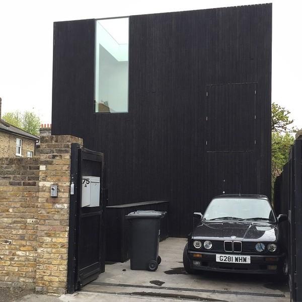 A house, a wheelie bin and a BMW #thebeauvoirtown