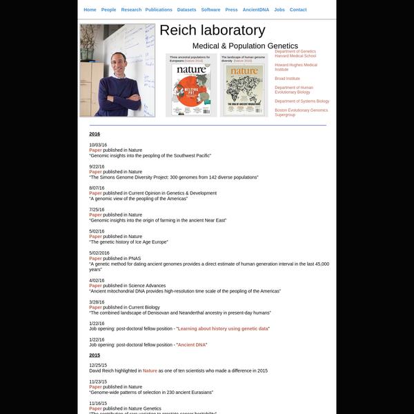 Publications AncientDNA