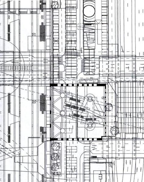 Rem Koolhaas, Espace Piranesian, TGV RR Station, Lille, 1993-96