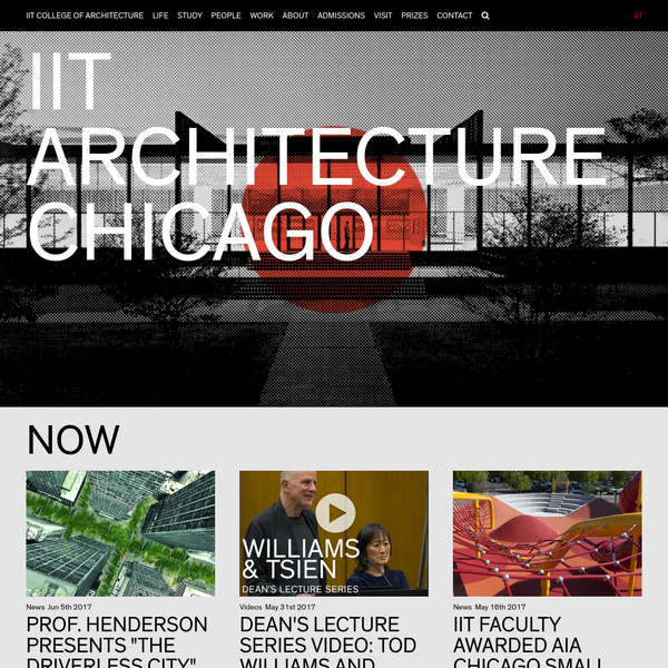 """""""Chicago Schools: Authors, Audiences, and History,"""" the 2nd International Graduate Student Symposium, will be hosted by the IIT College of Architecture PhD Program in partnership with the 2017 Chicago Architecture Biennial. - Full Story"""