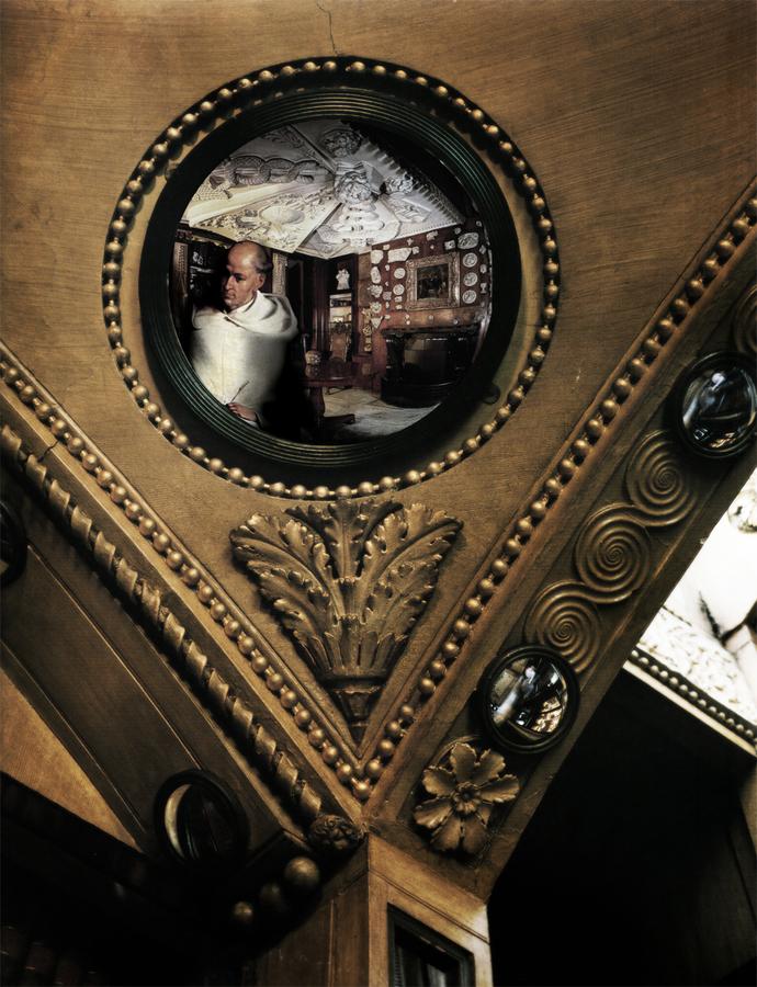 Convex mirror at John Soane's house