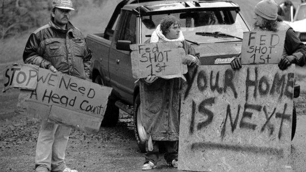 Ruby Ridge Protest (1992)