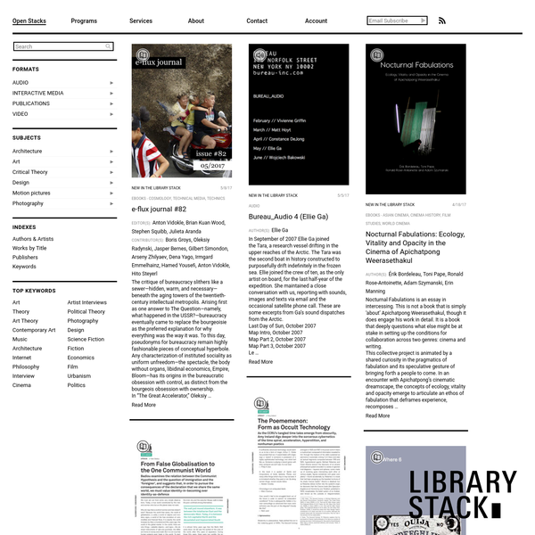 Art & Culture Digital Lending Library
