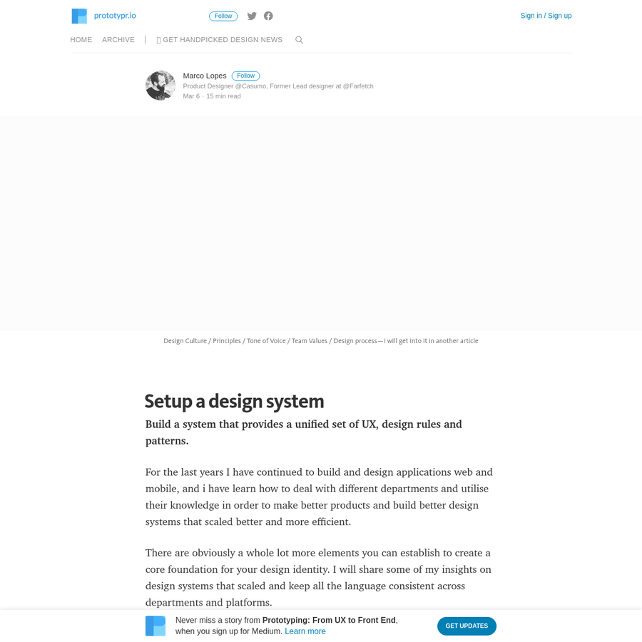 For the last years I have continued to build and design applications web and mobile, and i have learn how to deal with different departments and utilise their knowledge in order to make better products and build better design systems that scaled better and more efficient.