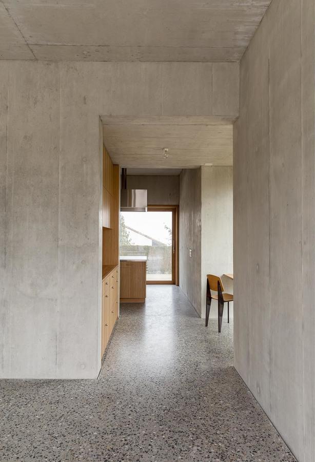 Terrazzo floor w/ a cool base reveal?