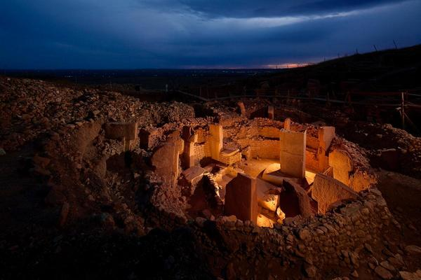 Gobekli Tepe's circular temples have changed the way archaeologists look at the beginnings of civilization.  PHOTOGRAPH BY VINCENT MUSI, NATIONAL GEOGRAPHIC CREATIVE