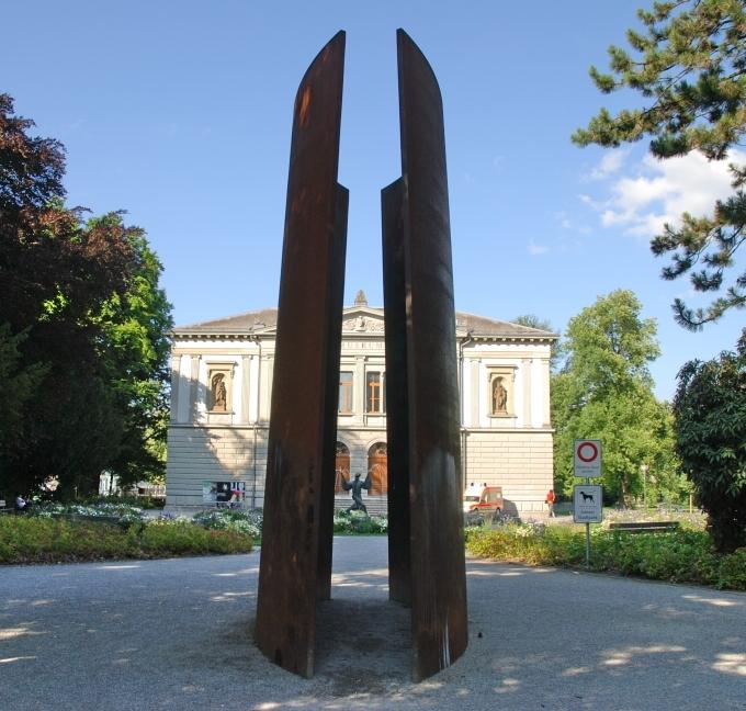 Richard Serra in Sankt Gallen