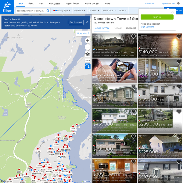 Zillow has 9 homes for sale in Doodletown Town of Stony Point. View listing photos, review sales history, and use our detailed real estate filters to find the perfect place.