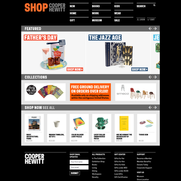 SHOP Cooper Hewitt | Tax-free online shopping | The best in design