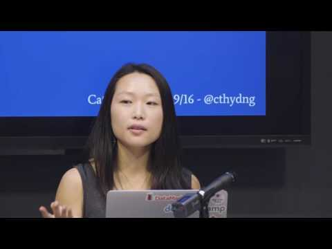 Cathy Deng debuts a small project that can nudge us to be more mindful & inclusive at Chi Hack Night: http://AreMenTalkingTooMuch.com/ On July 19th 2016, we heard from 9 members of Chi Hack Night about what they've done at or learned from our group.