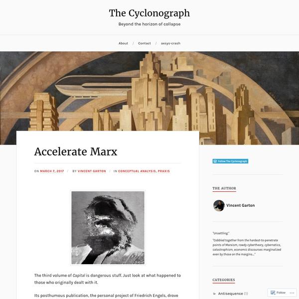 Accelerate Marx
